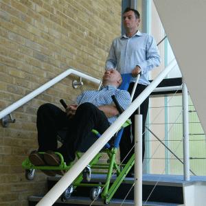 Evacuation Chair Std. on stairway
